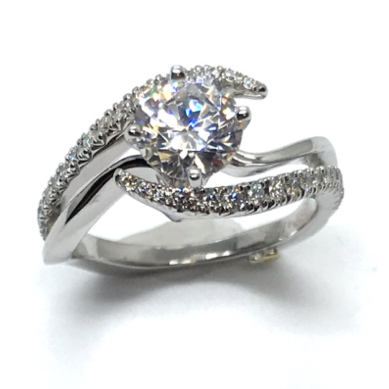 Engagement Ring by Mark Schneider