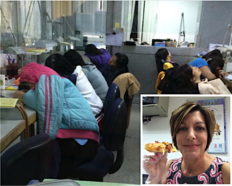 Pizza Gloves and Naptime in China