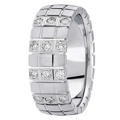 Wedding Band 001 115 00063 Gents Diamond Rings From Bay Area Company Green Wi